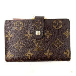 Louis Vuitton monogram biofold kisslock wallet C93